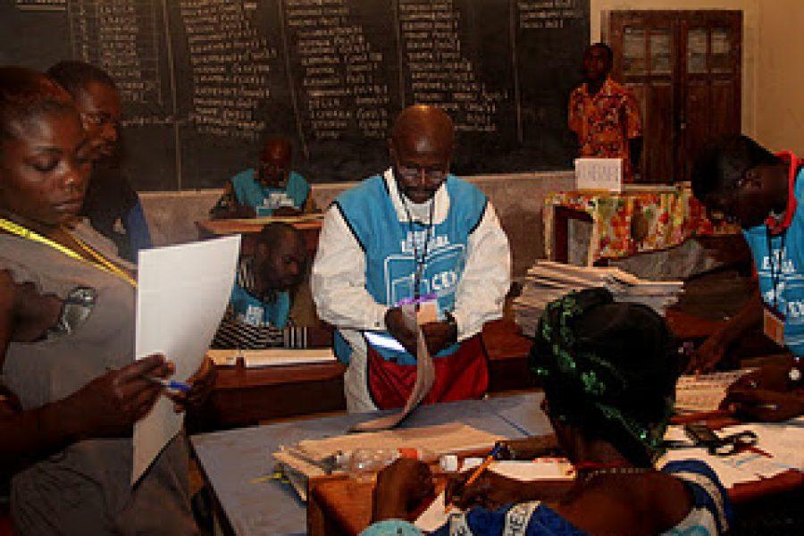 La mission nationale d'observation électorale exige l'annulation des législatives