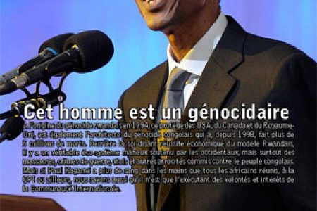 Fiez-vous aux faits/Believe the facts – Kagamé