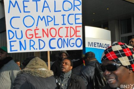 Suisse: Manifestation congolaise contre Metalor