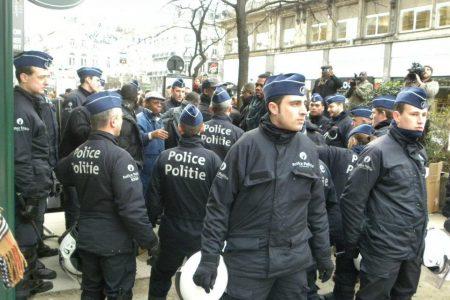 Violences policieres à Bruxelles