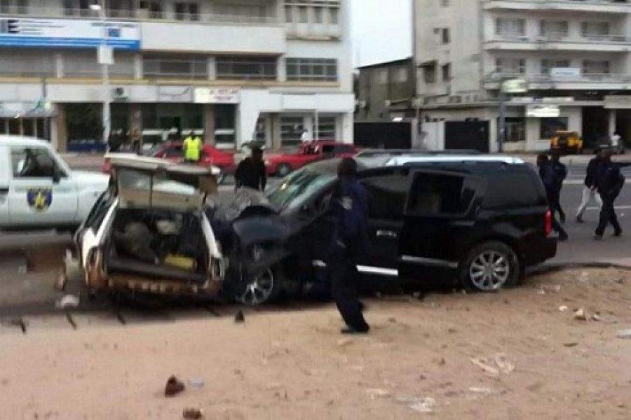 Kinshasa: Ivre mort le fils d'Evariste Boshab a tué 5 personnes sur le boulevard du 30 juin devant l'Agence South African Airways