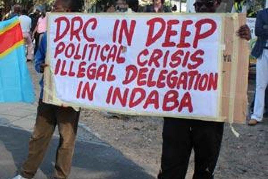 South Africa: Anti-Joseph Kabila protesters urge DRC boycott at Indaba