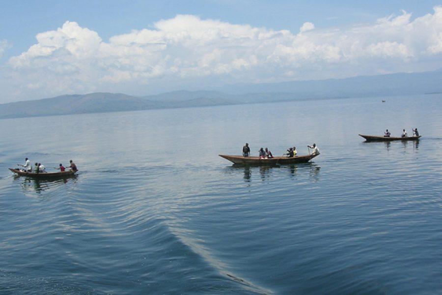 Les eaux troubles du lac Kivu