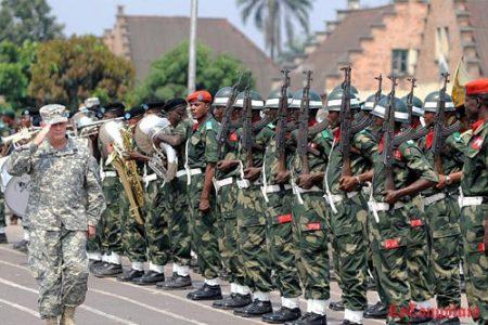 Les Etats-Unis forment un bataillon spécial militaire à Kinshasa
