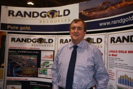 Randgold Resources a les yeux fixés sur la RD Congo et prévoit d'investir 1 milliard de dollars…