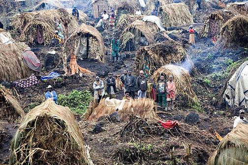 Congo, North Kivu Province Refugee Camp - 2009