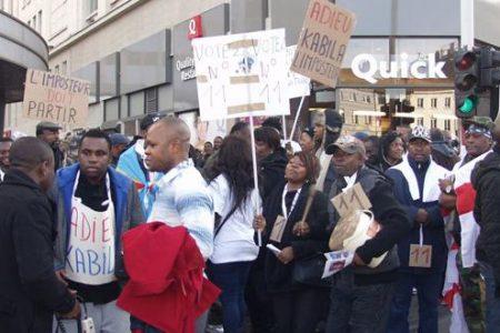 Congolais à Bruxelles : nouveaux combattants politiques