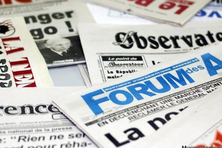 Les médias kinois et quelques questions d'actualité