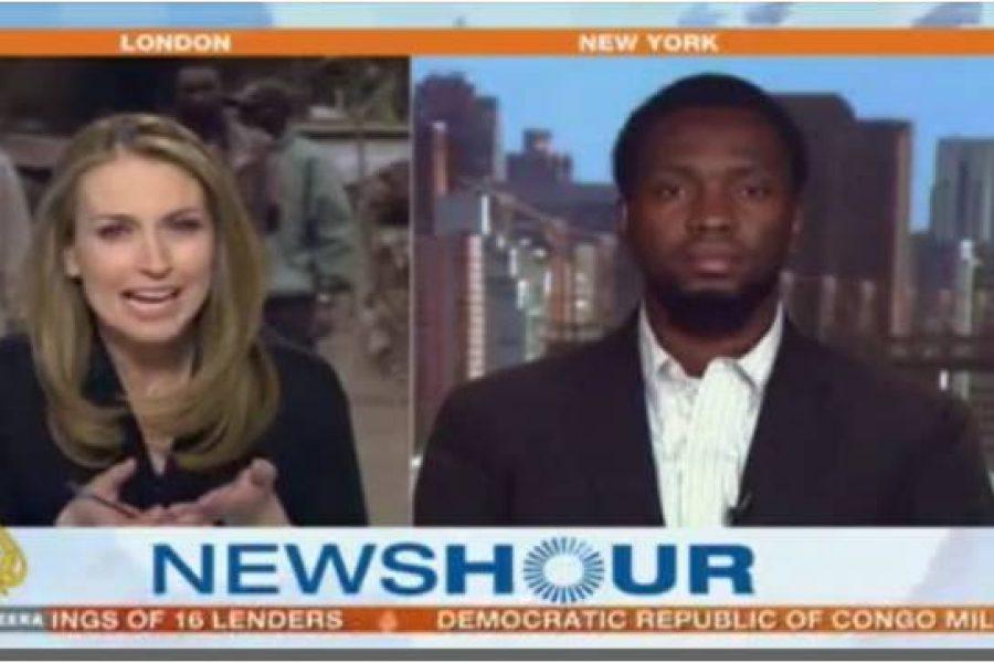 Kambale Musavuli on Al Jazeera's News Hour – May 18, 2012
