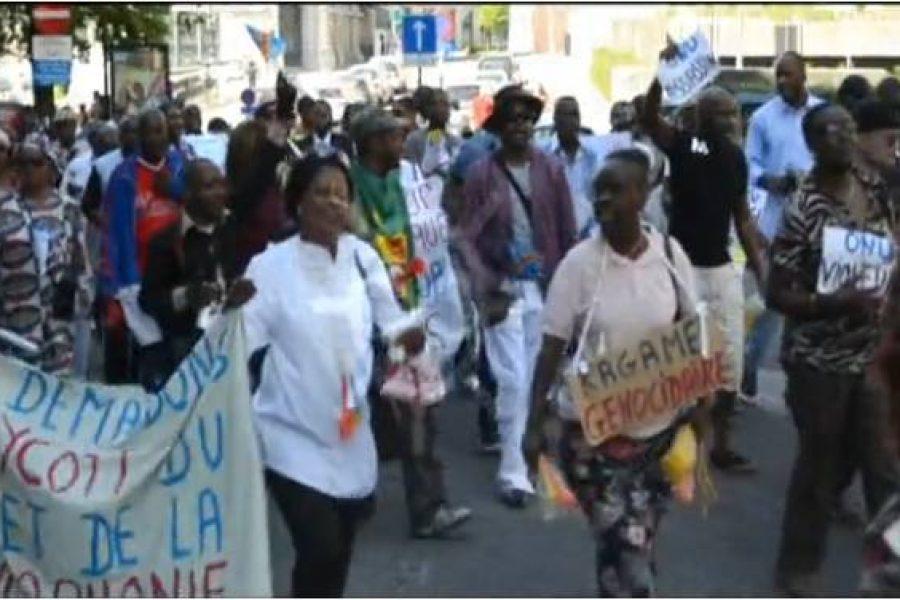 Retour sur image : Bruxelles – Manifestation du 26 mai 2012