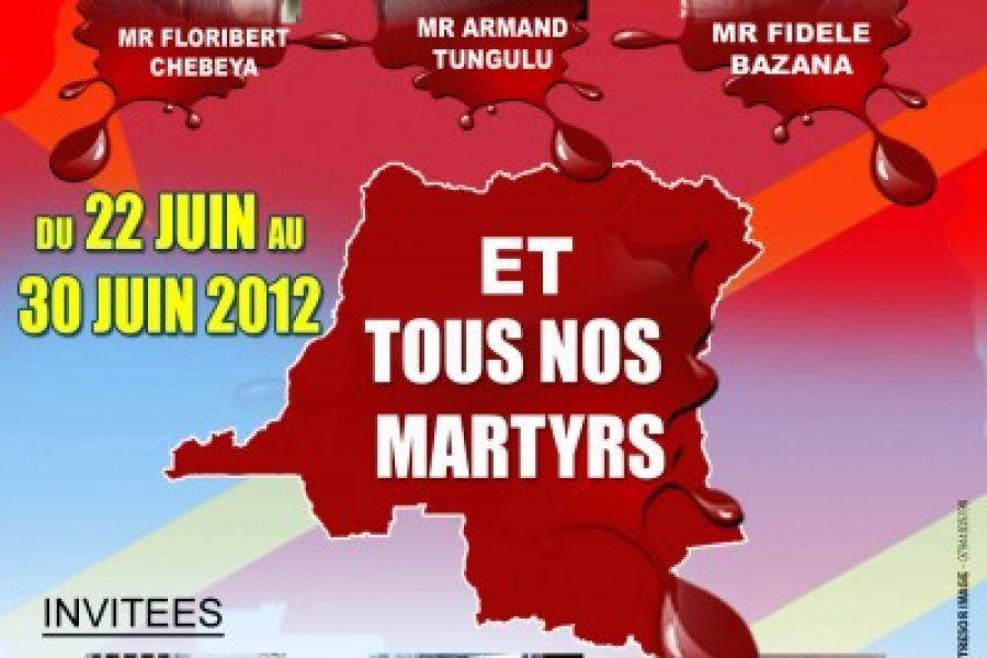 Du 22 au 30 juin 2012 à Londres: Opération «Soutenons tous, nos héros»