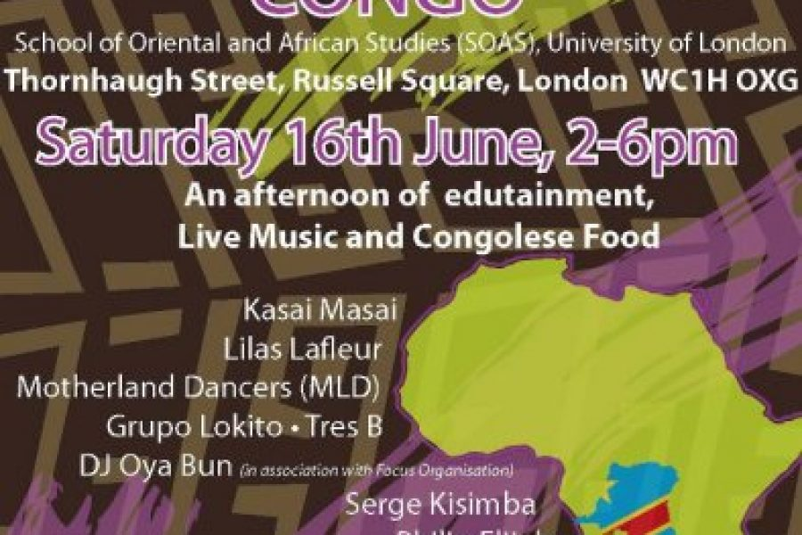 Lisanga! : Celebrate Congo in London, June 16th 2012