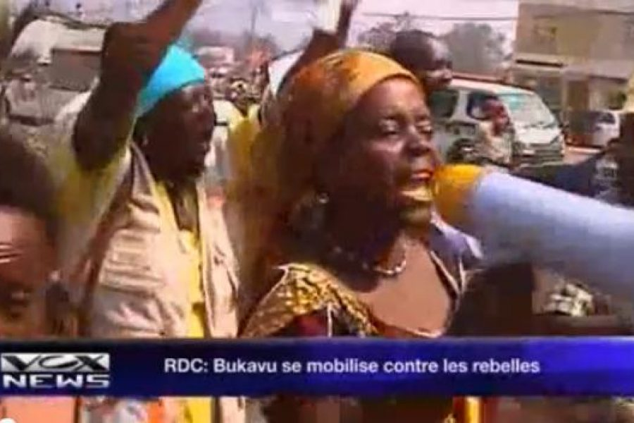 Bukavu : Mobilisation de la société civile