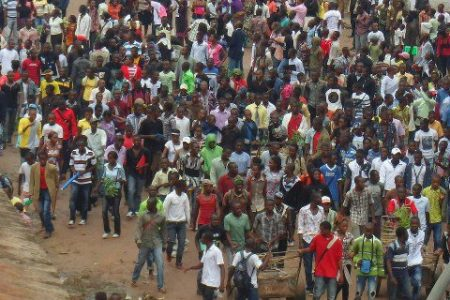 Paris : Sit-in contre l'agression rwandaise, le 23 novembre 2012