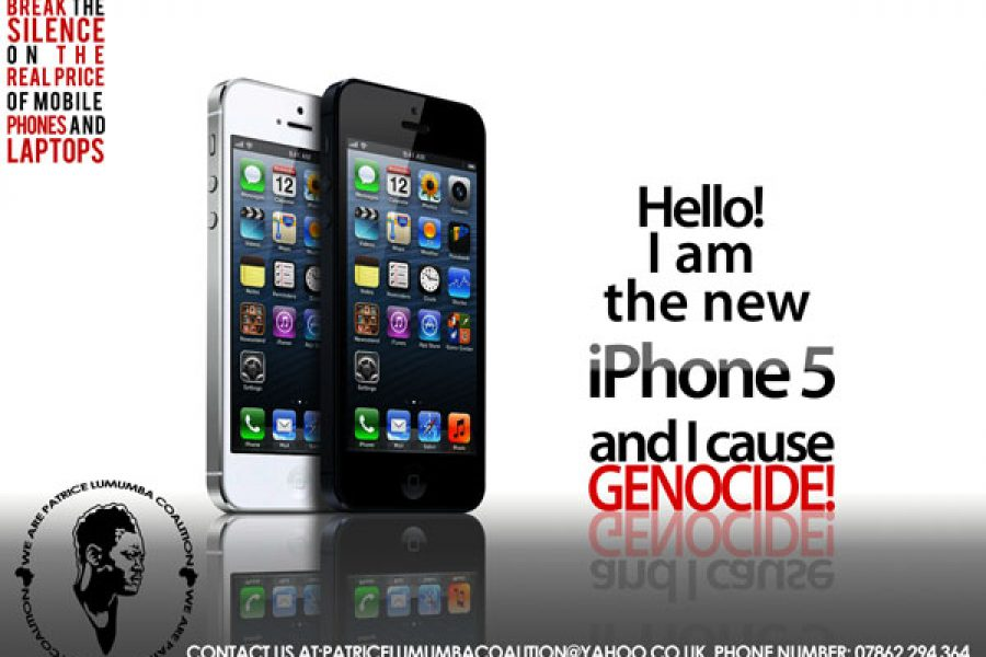 London: Walk against the Congo genocide, december 22th, 2012