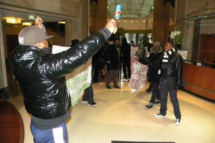18 janvier 2013 à Paris: Les Congolais Vs la société Areva