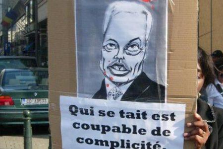 Bruxelles, 5 mars 2013: Sit-In pour la restauration d'une paix durable en RDC