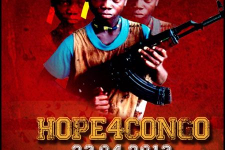 April 23rd, 2013 in London : Hope4Congo charity event at Rich Mix