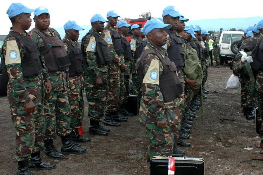 10 mai 2013: La brigade spéciale de l'ONU déjà à Goma