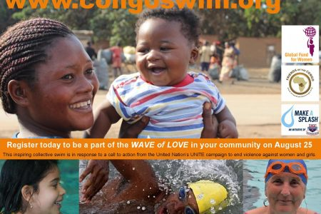 CongoSwim 2013 : To support peace and an end to violence against women and girls in Congo