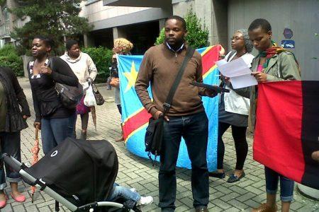 Jeunesse africaine de Belgique Vs Ambassade de l'Inde: Compte rendu du sit-in du 21 juin 2013