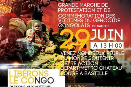 29 juin 2013 à Paris : Grande marche de protestation et de libération