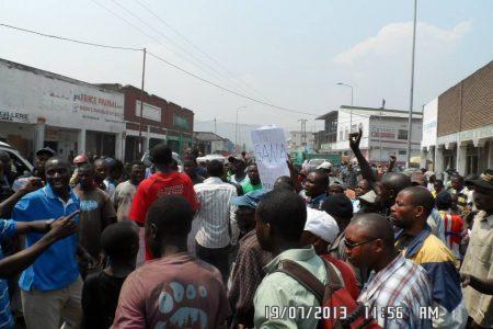 Lucha: «Nous exigeons l'extension immédiate de la zone de sécurité au delà de Kibati»