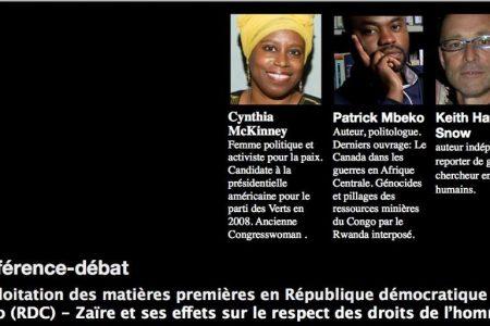 Conférence-débat: Activité minière et droits humains au Congo – 16 octobre 2013 à Genève.