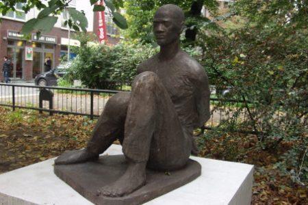 Inauguration de la statue de Lumumba à Berlin