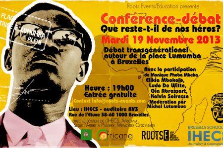 Conférence-Débat : Que reste-t-il de nos héros?  – Le 19 novembre 2013 à Bruxelles