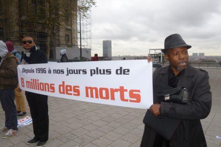 Bruxelles: Sit-in pour la reconnaissance du génocide congolais