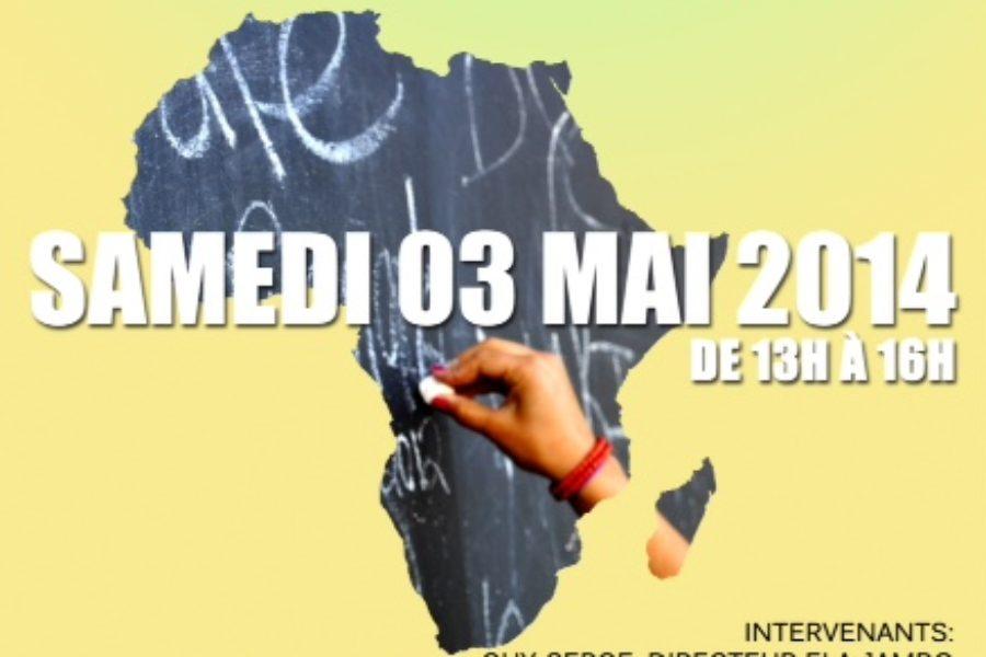 Conférence – L'enseignement des langues africaines dans la mondialisation. – 3 mai 2014 à Montréal, Canada