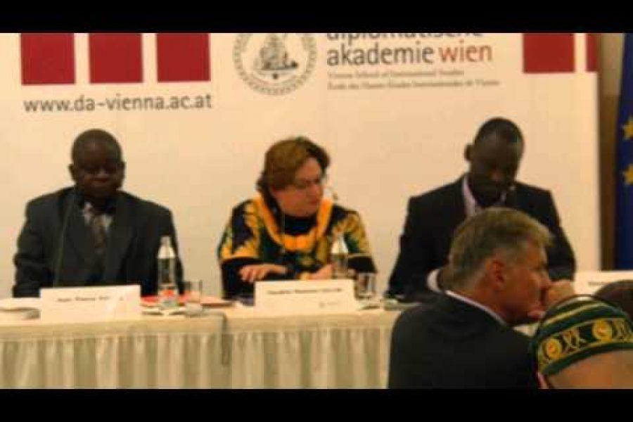 RD Congo: Guerre & paix (Conférence de l'institut diplomatique de Vienne, 29 octobre 2014)