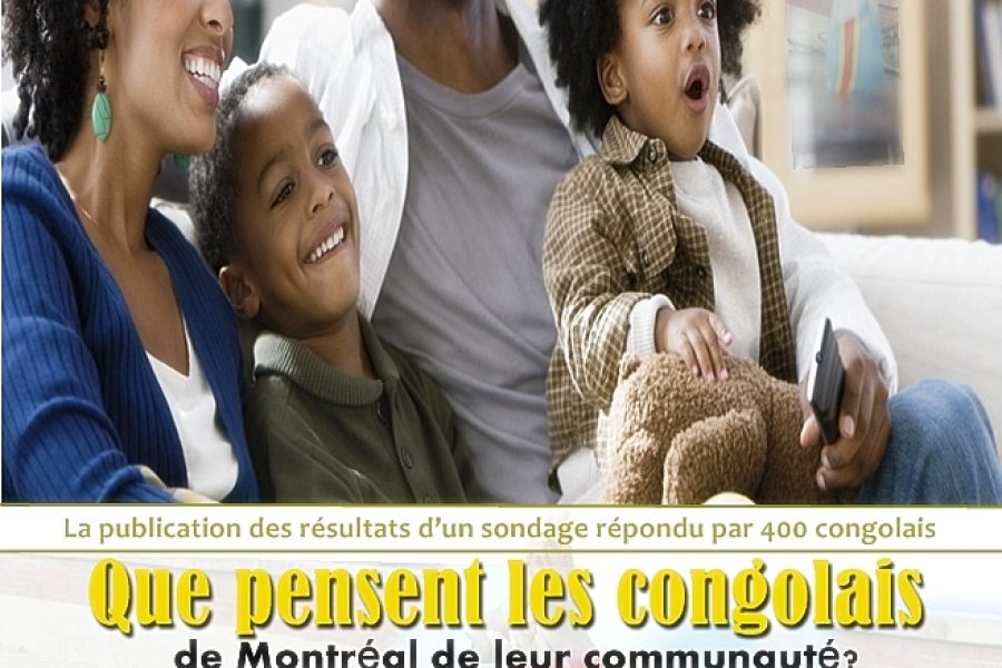 Rencontre – Que pensent les Congolais de Montréal de leur communauté ? – 5 décembre 2015 à Montréal