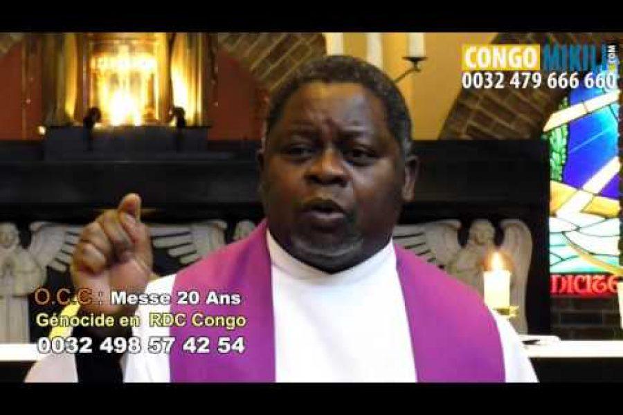 Déjà 20 ans le Génocide en RD.Congo : La Messe des Vérités Cachées