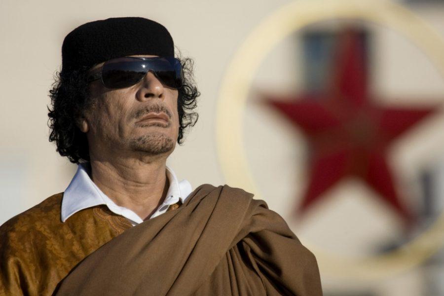 Kadhafi, dictateur et Saddam Hussein, terroriste