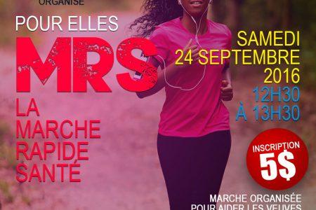 La Marche rapide santé pour tous – 24 septembre 2016 à Montreal