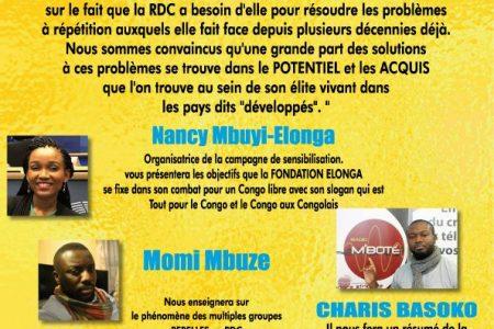 Conference: La RDC a Besoin De Sa Jeune Élite Issue De La Diaspora – 2 mai 2017 à Bruxelles