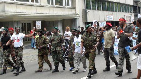 L'éloge des combattants congolais