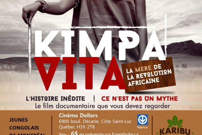 Projection du film-documentaire «Kimpa Vita, la mère de la révolution Africaine» – 13 août 2017 à Montréal