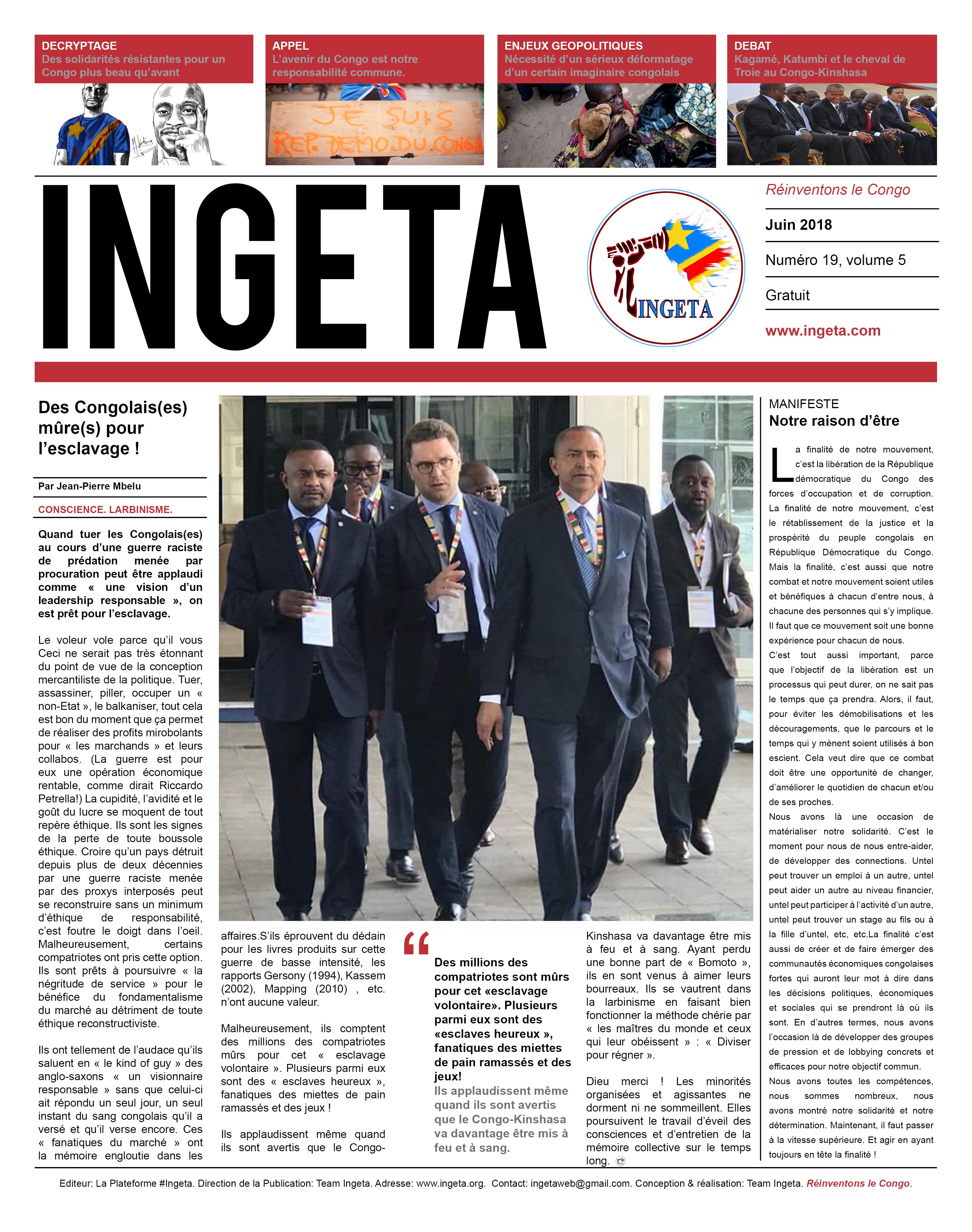 Ingeta Journal #19
