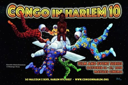 Festival Congo In Harlem – 10ème édition – 14 au 21 octobre 2018 à New-York