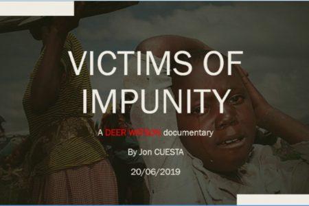 Avant-première du film «Victims of Impunity» – Bruxelles, 20 juin 2019 à 18h30