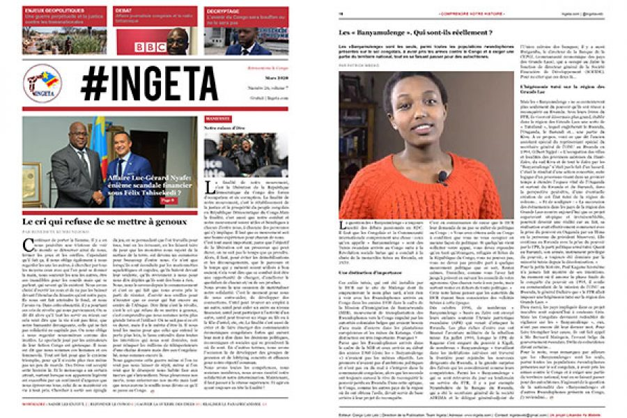 Ingeta Journal #26