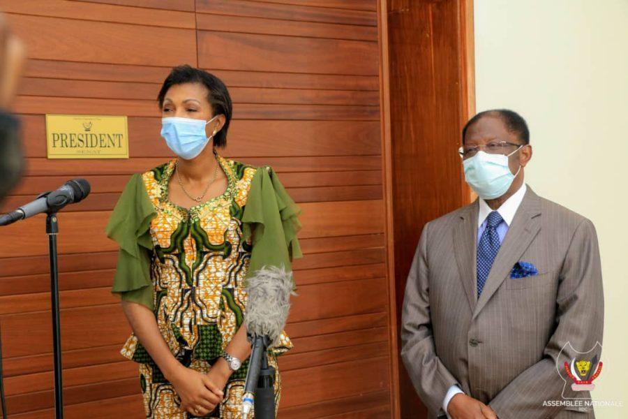 Alexis Tambwe Mwamba, Jeanine Mabunda et l'ingérence des diplomates accrédités au Congo-Kinshasa