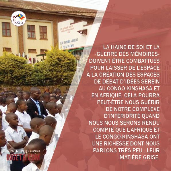 Idées + Réflexions (Pour mieux comprendre le Congo), part. 27