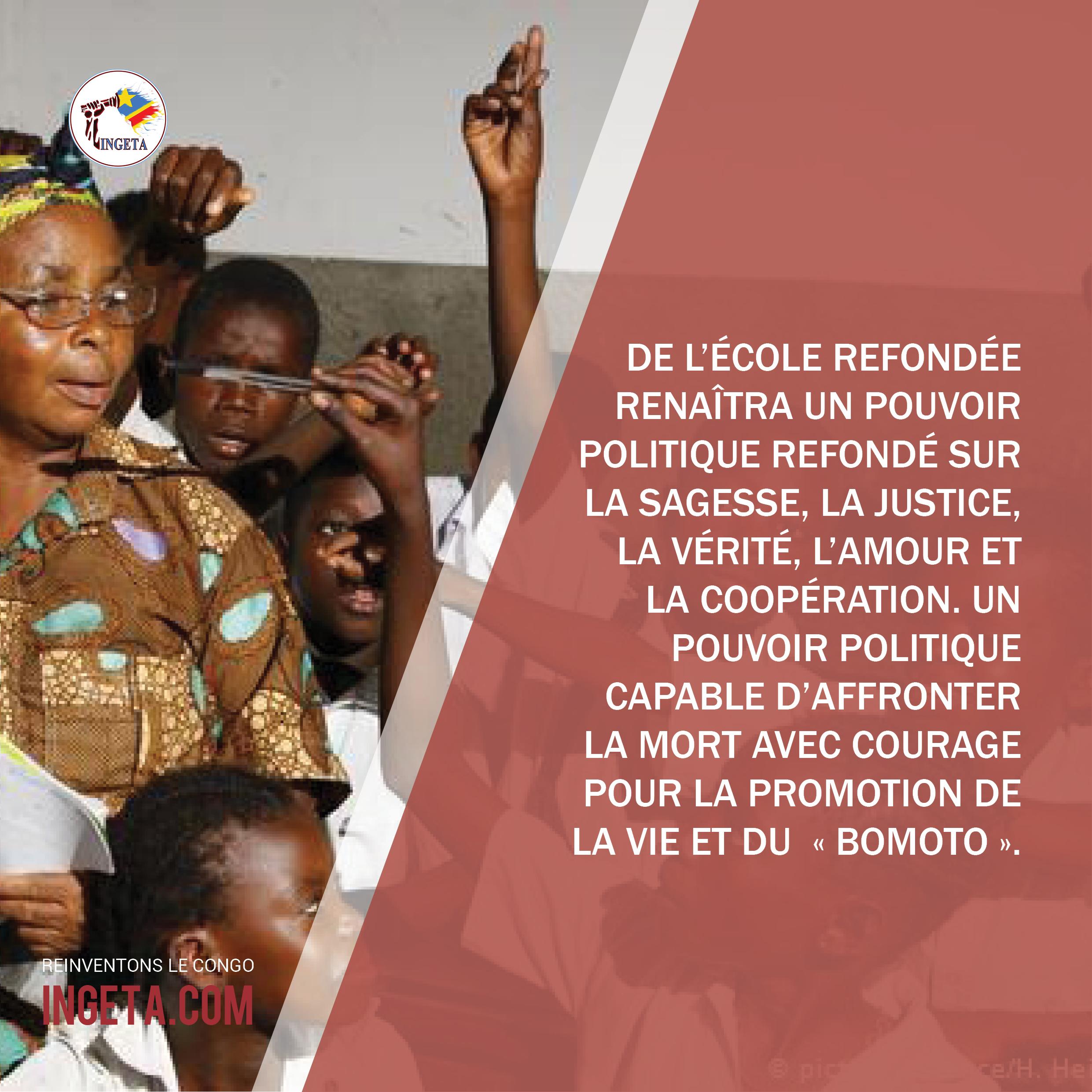 Idées + Réflexions (Pour mieux comprendre le Congo), part. 28