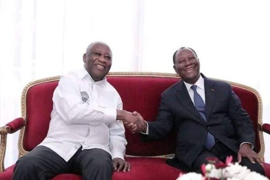 Laurent Gbagbo – Alassane Ouattara, des images posant la nature d'un jeu des devinettes…