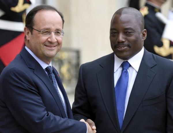 François Hollande a un bilan négatif et Joseph Kabila pourrait le voir d'ici peu